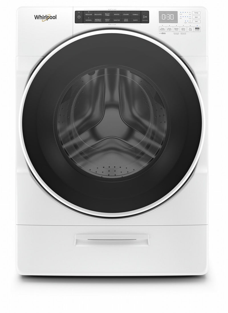 Whirlpool White Front Load Washer (5.2 Cu. Ft.) - WFW6620HW