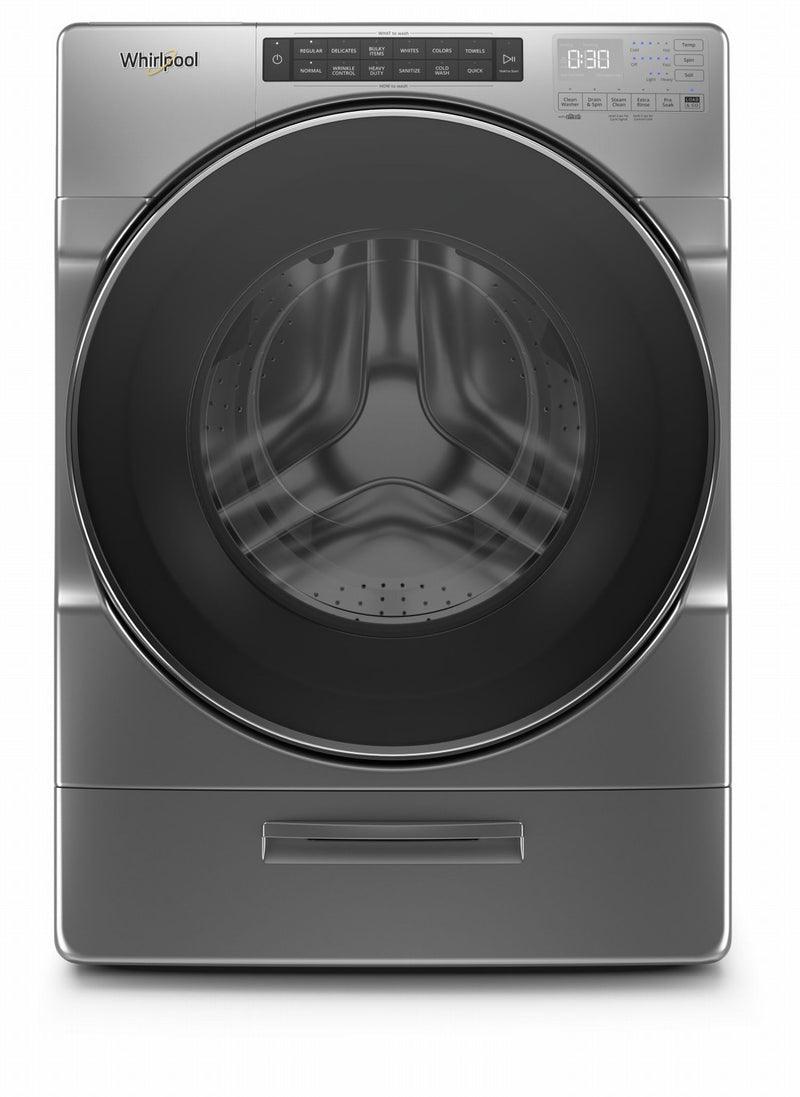 Whirlpool Chrome Shadow Front Load Washer (5.2 Cu.Ft.) - WFW6620HC