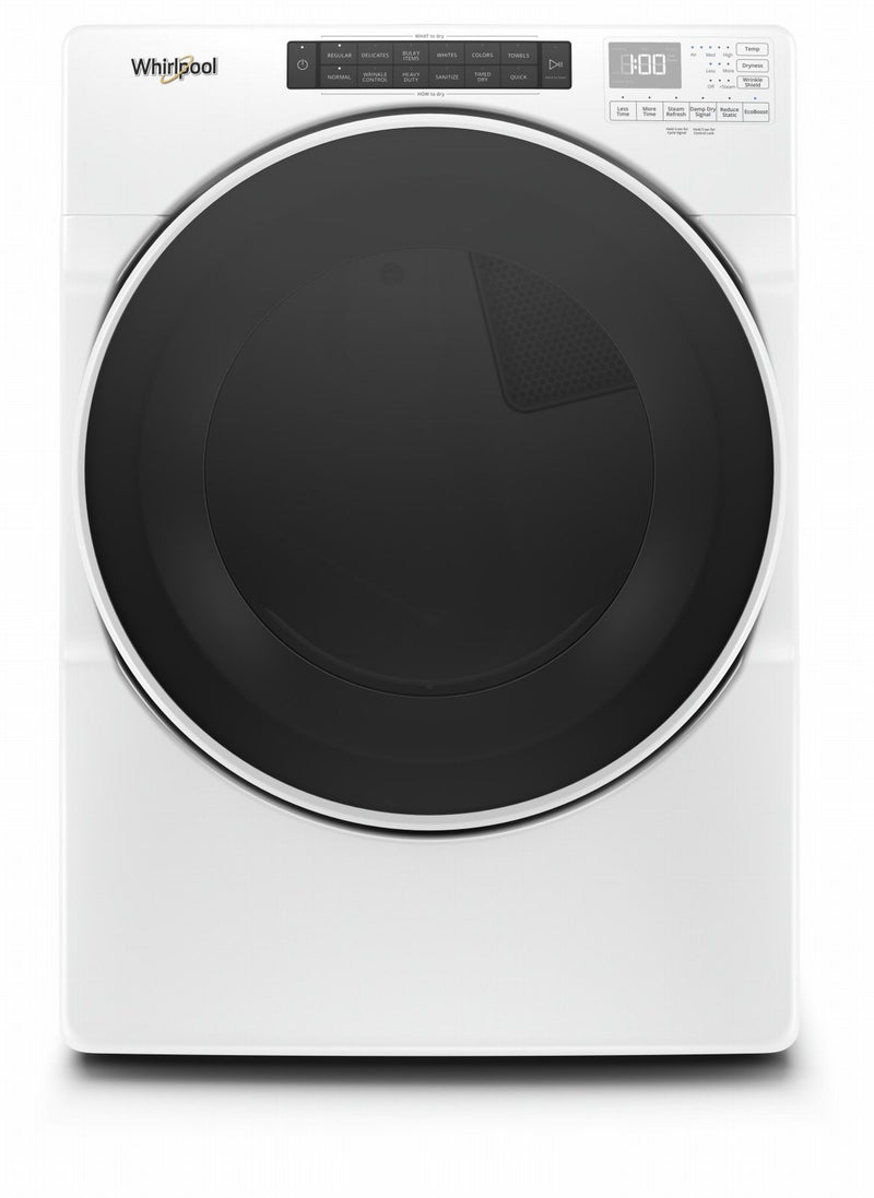 Whirlpool White Electric Dryer (7.4 Cu.Ft.) - YWED6620HW