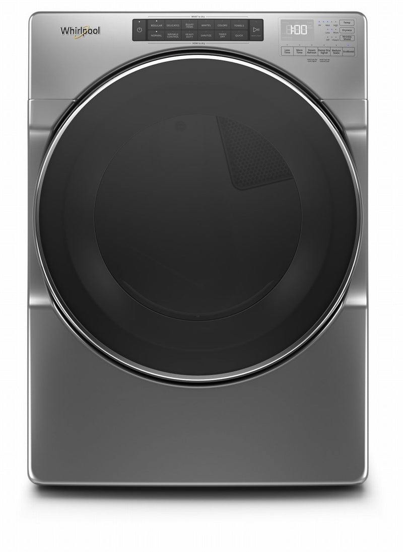 Whirlpool Chrome Shadow Electric Dryer (7.4 Cu.Ft.) - YWED6620HC