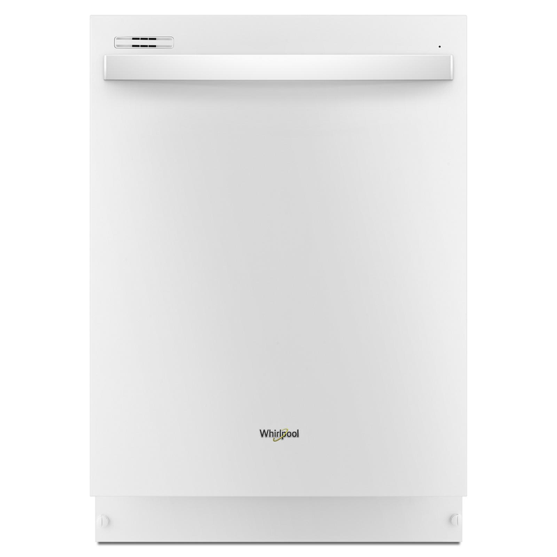 Whirlpool White Dishwasher with Sensor Cycle (51 dBA) - WDT705PAKW