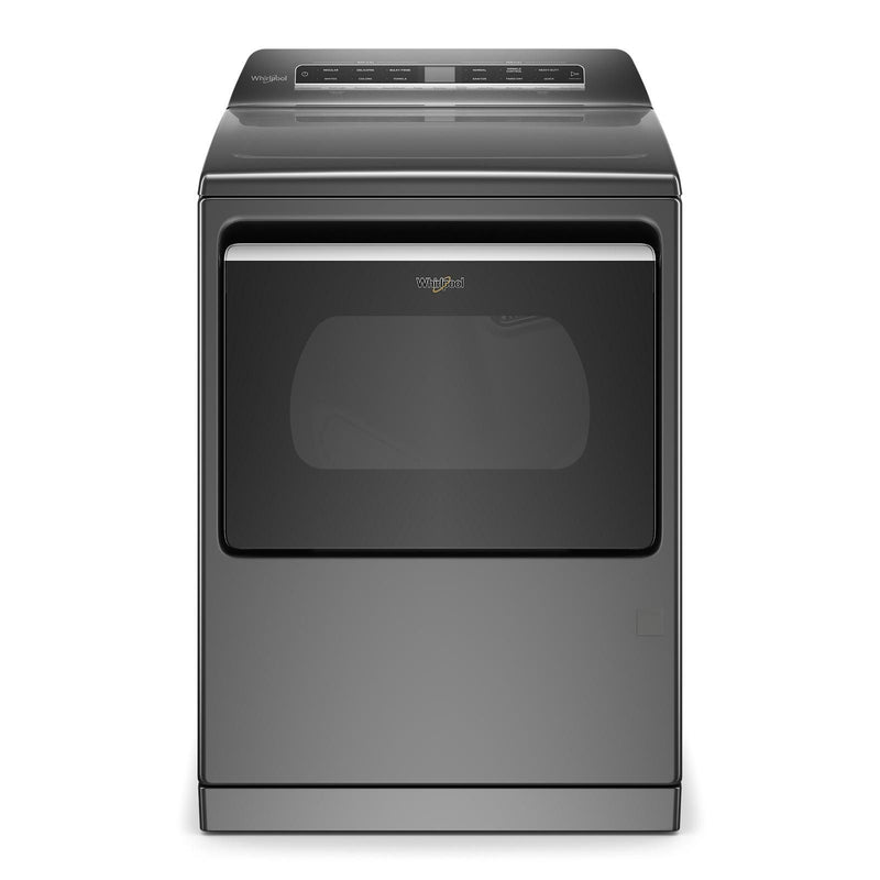 Whirlpool Chrome Shadow Smart Gas Dryer with Steam (7.4 Cu.Ft.) - WGD7120HC