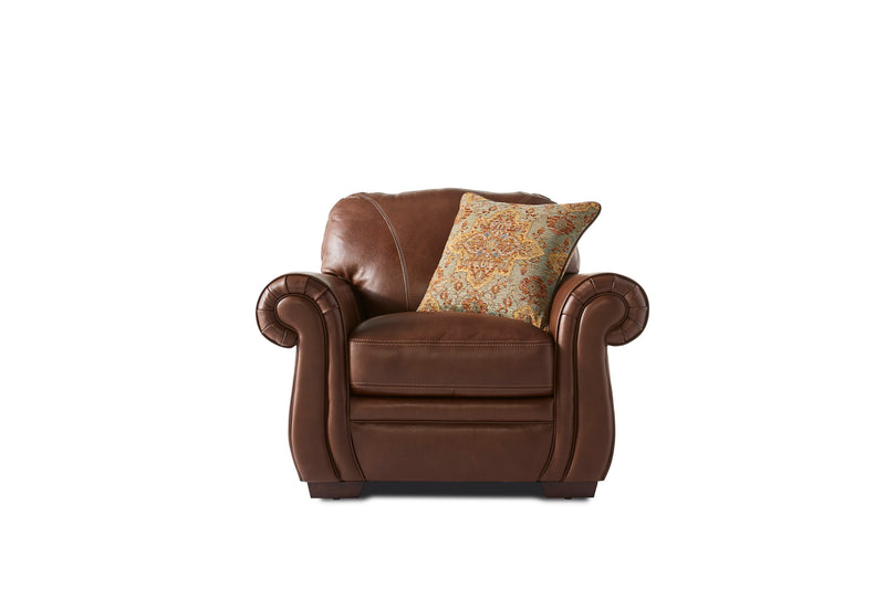 Laird Chair - Brown Cherry