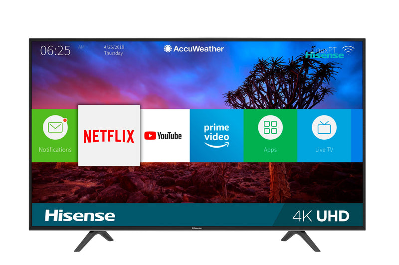 "Hisense 50"" 4K HDR SMART 120MR LED TV - 50H7709"