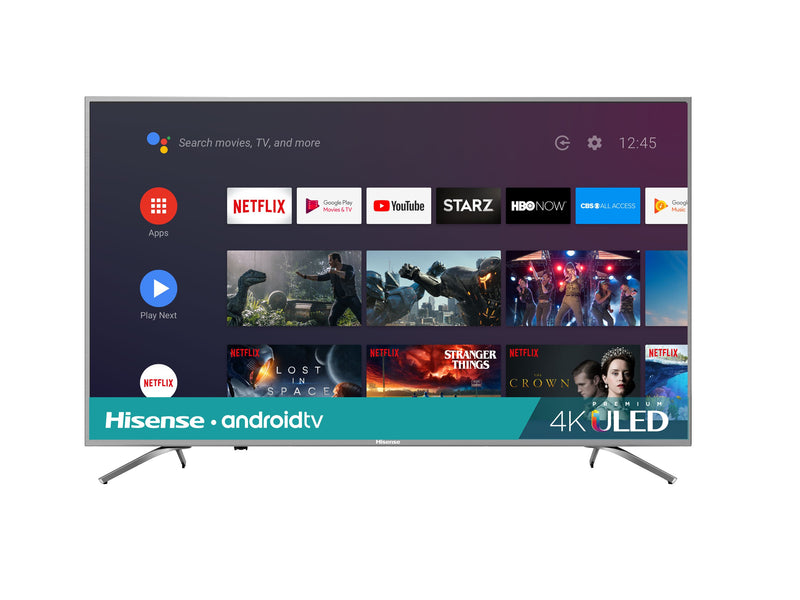"Hisense 65"" 4K HDR SMART QUANTUM DOT ULED TV- 65Q8809"