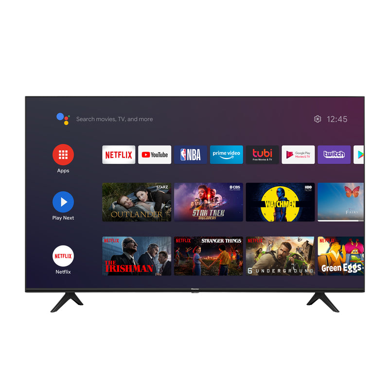 "Hisense 65"" 4K LED SMART ANDROID TV - 65H78G"