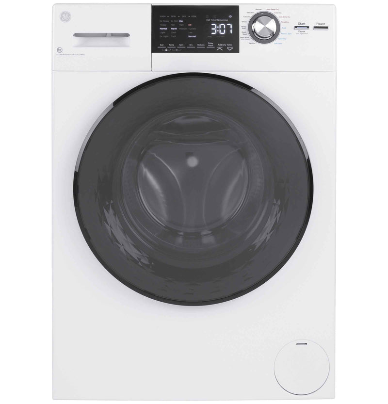 "GE 24"" Front Load Washer/Condenser Dryer Combo (2.8 cu.ft.) - GFQ14ESSNWW"