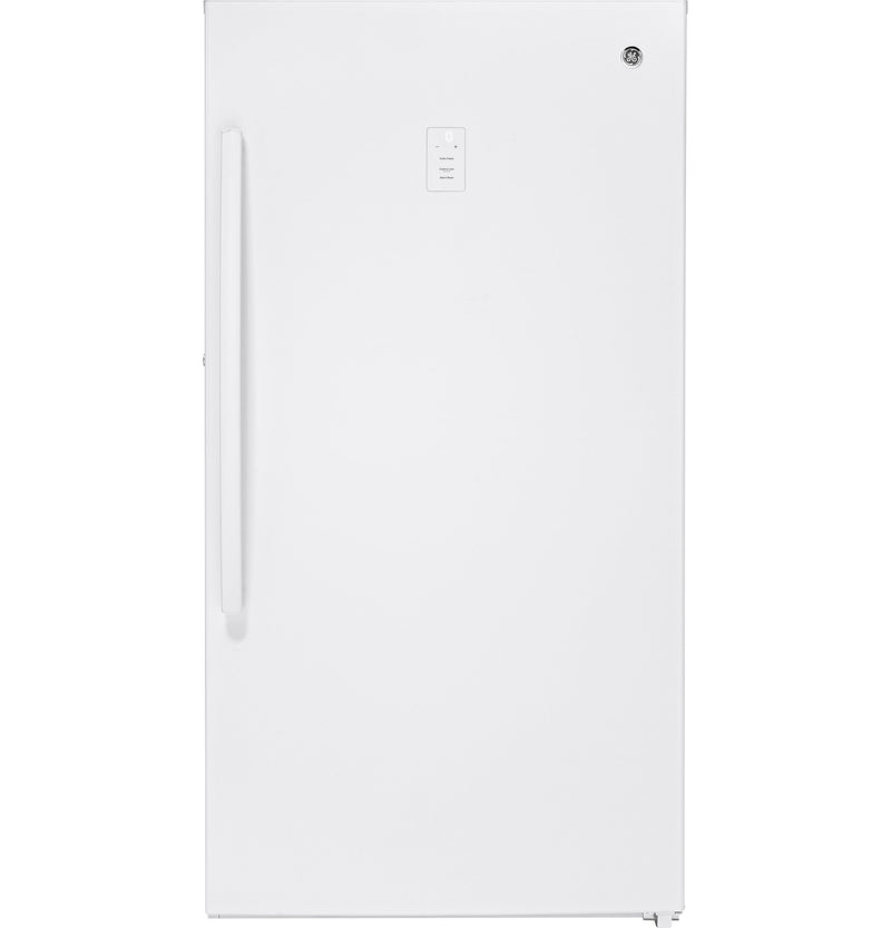 GE White Frost-Free Upright Freezer (17.3 Cu. Ft.) - FUF17SMRWW