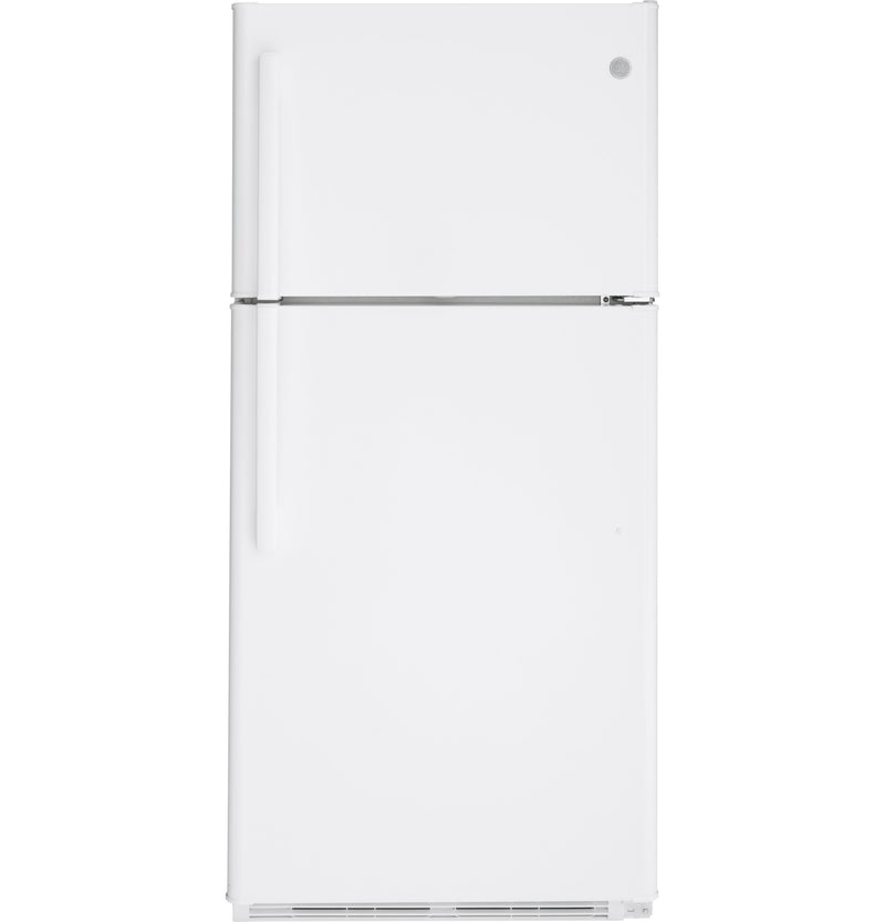 GE White Top-Freezer Refrigerator (18 Cu. Ft.) - GTS18FTLKWW