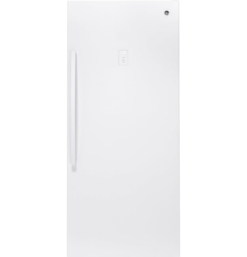 GE White Frost Free Upright Freezer (21.3 Cu. Ft.) - FUF21SMRWW