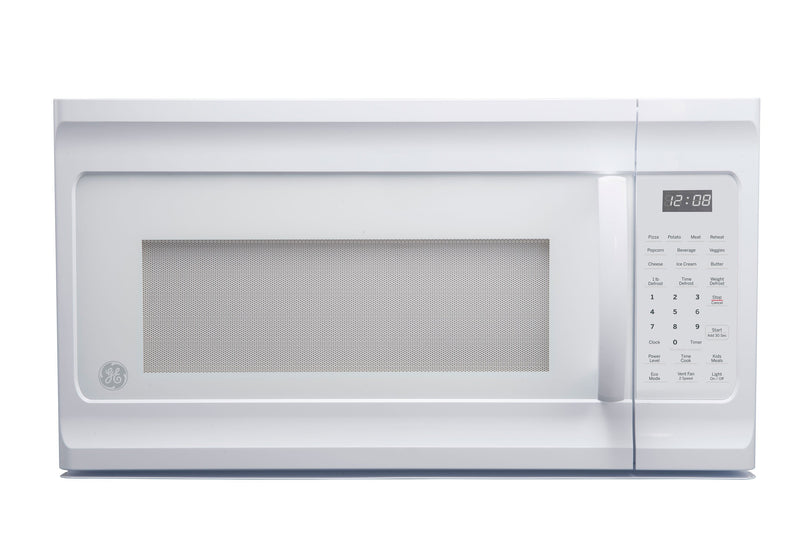 GE White Over-the-Range Microwave (1.6 Cu. Ft.) - JVM2160DMWW
