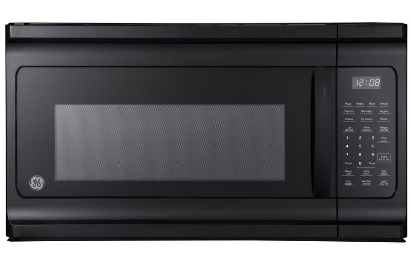 GE Black Over-the-Range Microwave (1.6 Cu. Ft.) - JVM2160DMBB