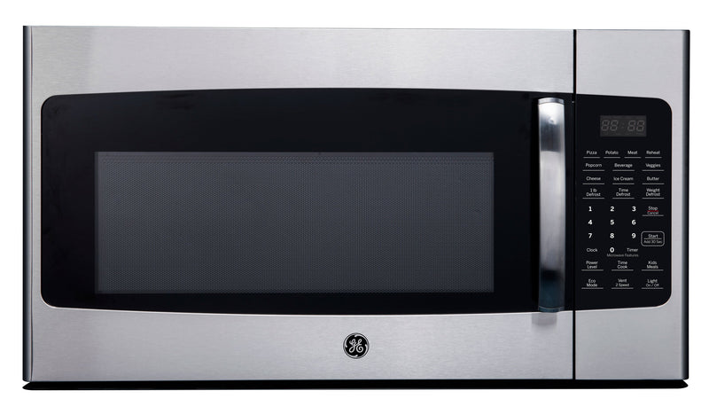 GE Stainless Steel Over-the-Range Microwave (1.6 Cu. Ft.) - JVM2165SMSS