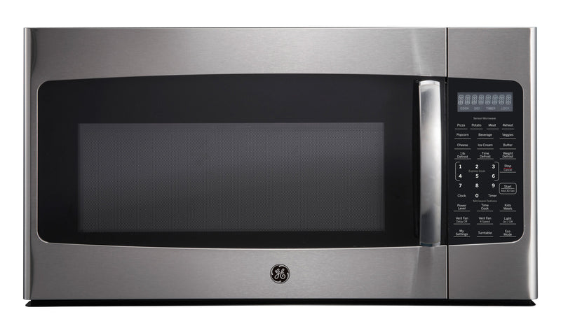 GE Stainless Steel Over-the-Range Microwave (1.8 Cu. Ft.) - JVM2185SMSS