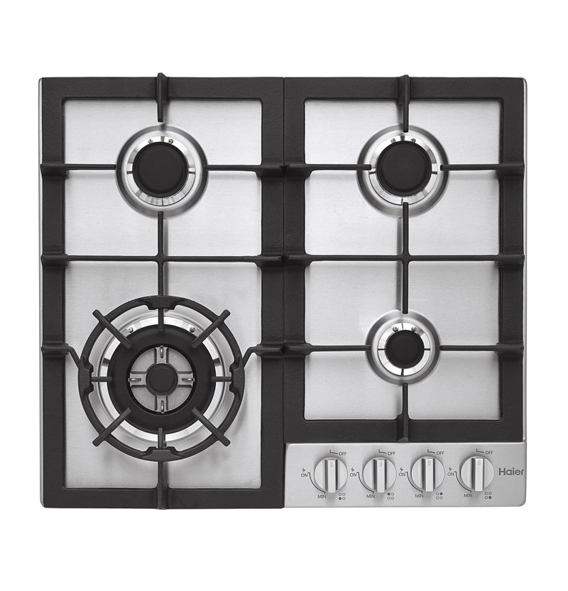 "Haier Stainless Steel 24"" Gas Cooktop - HCC2230AGS"