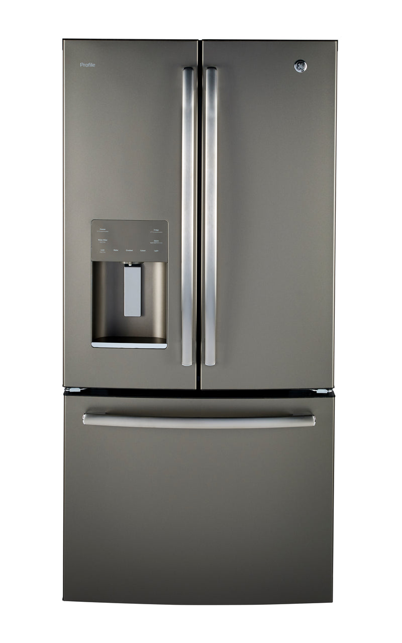 GE Profile Slate French Door Refrigerator (23.8 Cu. Ft.) - PFE24HMLKES