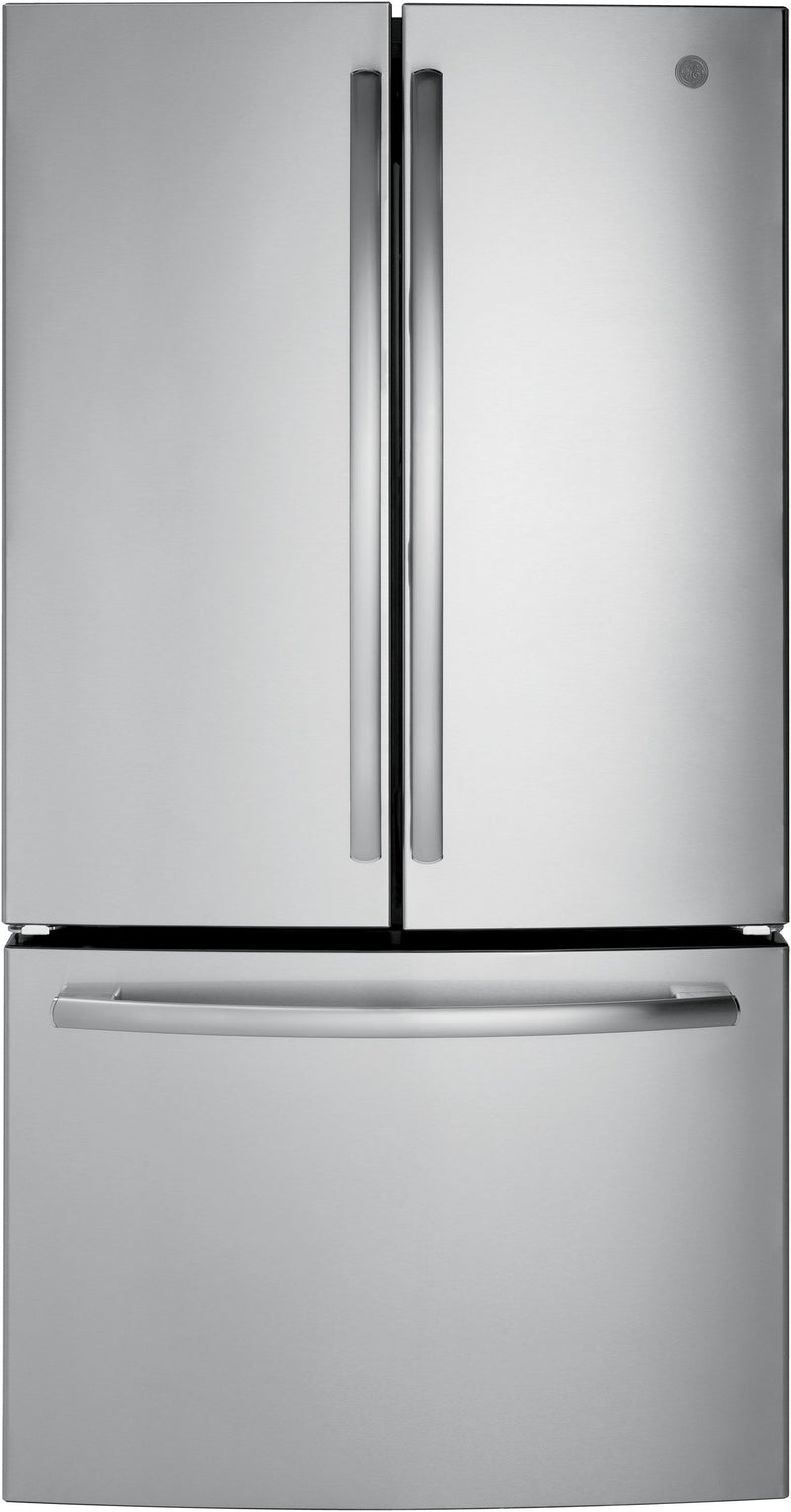 GE Stainless Steel French Door Refrigerator (26.7 Cu. Ft) - GNE27ESMSS