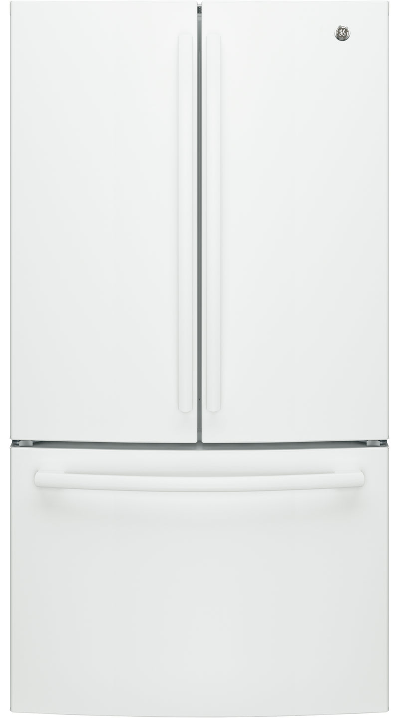GE White French Door Refrigerator (27 Cu. Ft) - GNE27JGMWW