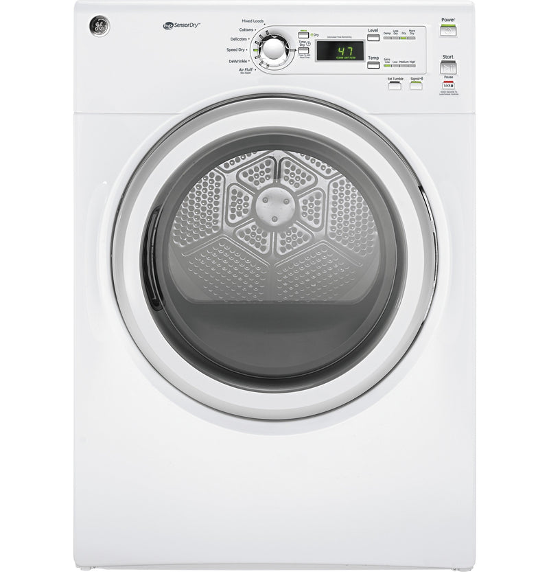 GE White Electric Dryer (7.0 Cu. Ft.) - GFD40ESMMWW