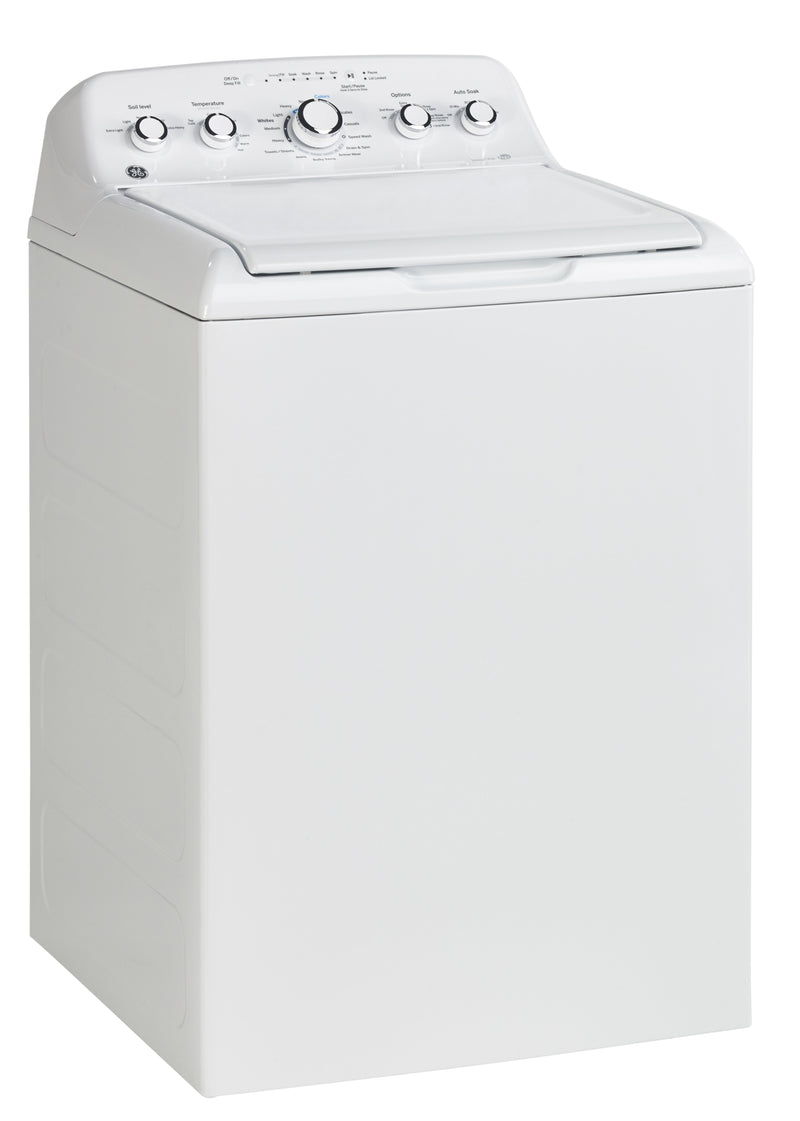 GE White Top Load Washer (4.9 IEC Cu. Ft.) - GTW460BMMWW