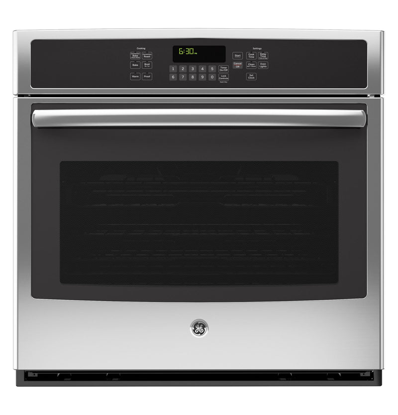 "GE 30"" Stainless Steel Electric Convection Wall Oven (5.0 Cu. Ft.) - JCT5000SFSS"