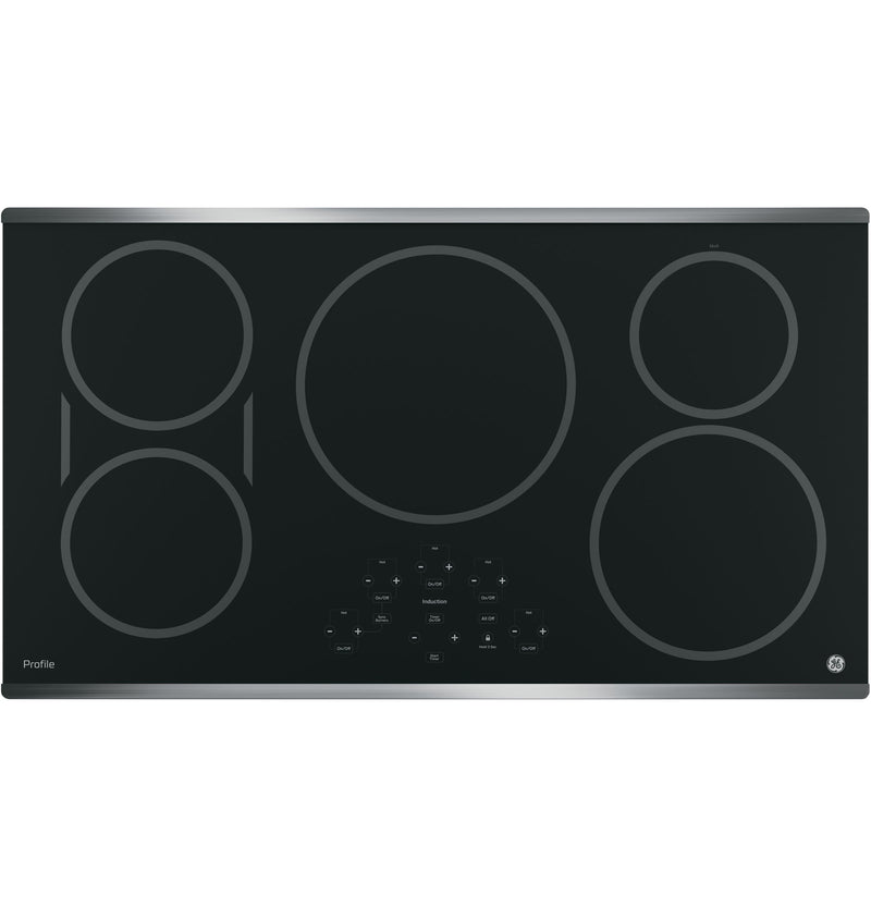 "GE Profile Stainless Steel 36"" Electric Cooktop - PHP9036SJSS"
