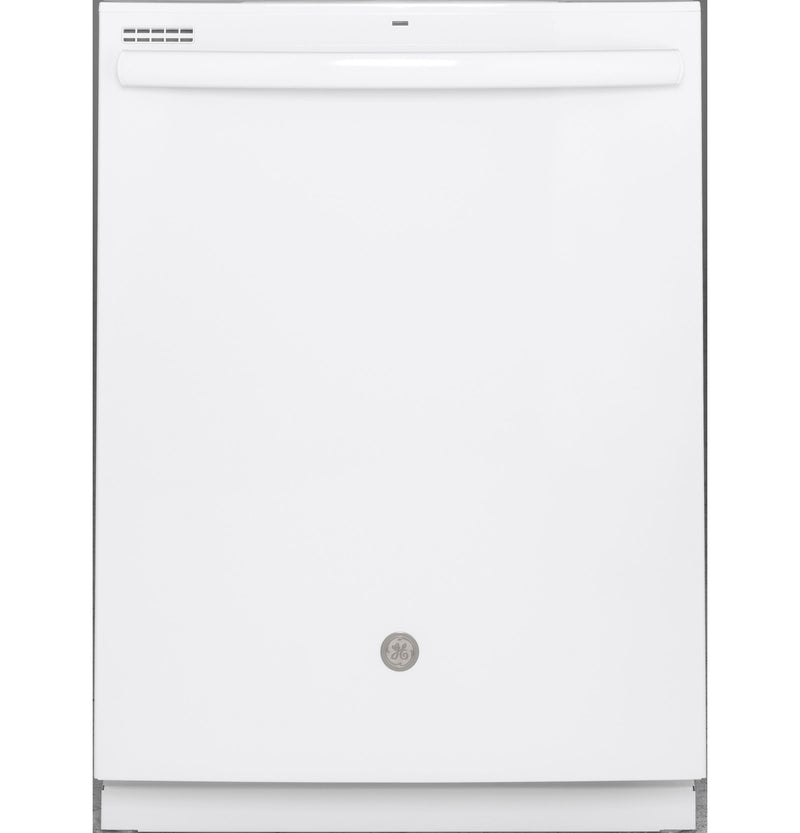 GE White Built-In Dishwasher - GDT605PGMWW