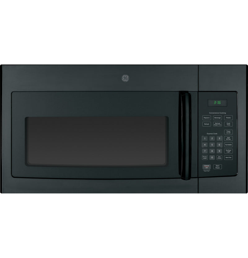 GE Black Over-the-Range Microwave (1.6 Cu. Ft.) - JVM1630BFC