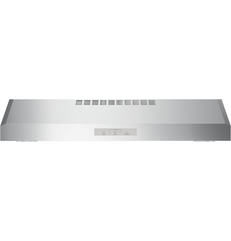 "GE Profile Stainless Steel 30"" Under-the-Cabinet Vent Hood - PVX7300SJSSC"