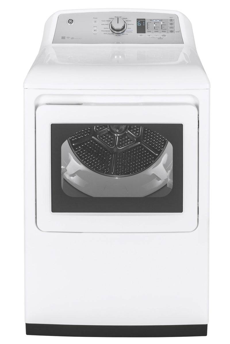 GE White Gas Dryer (7.4 Cu. Ft.) - GTD75GCMLWS