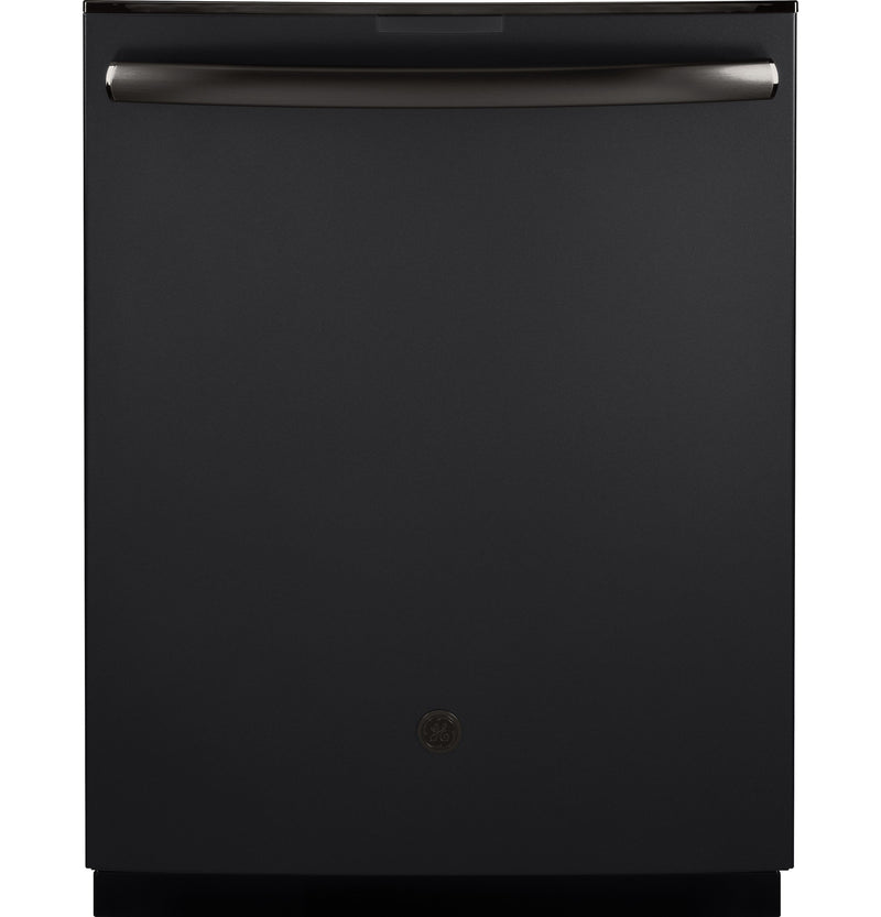 "GE Profile Series Black Slate 24"" Dishwasher- PDT855SFLDS"