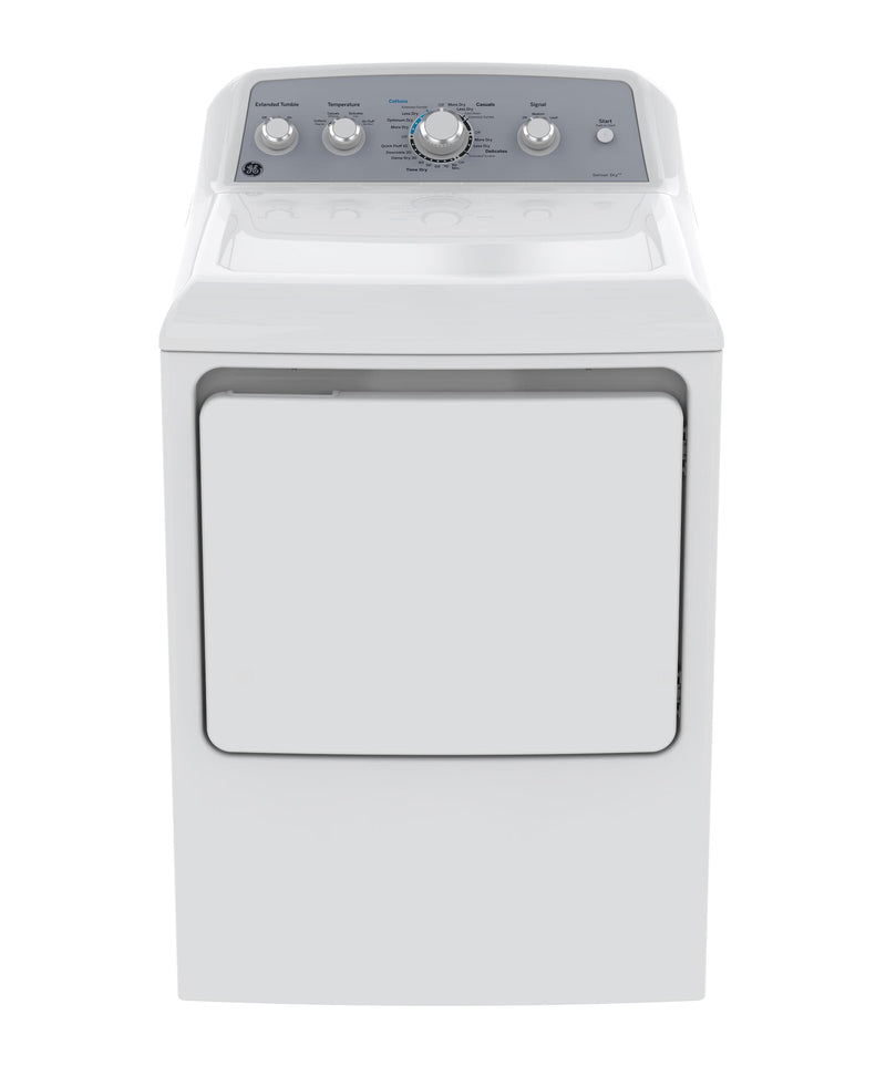 GE White Gas Dryer (7.2 Cu. Ft.) - GTD45GBMKWS