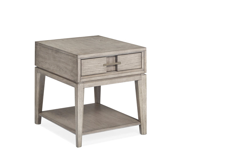 Serenity Park End Table - Grey