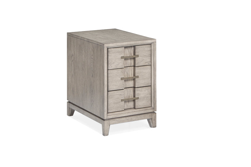 Serenity Park Chairside End Table - Grey