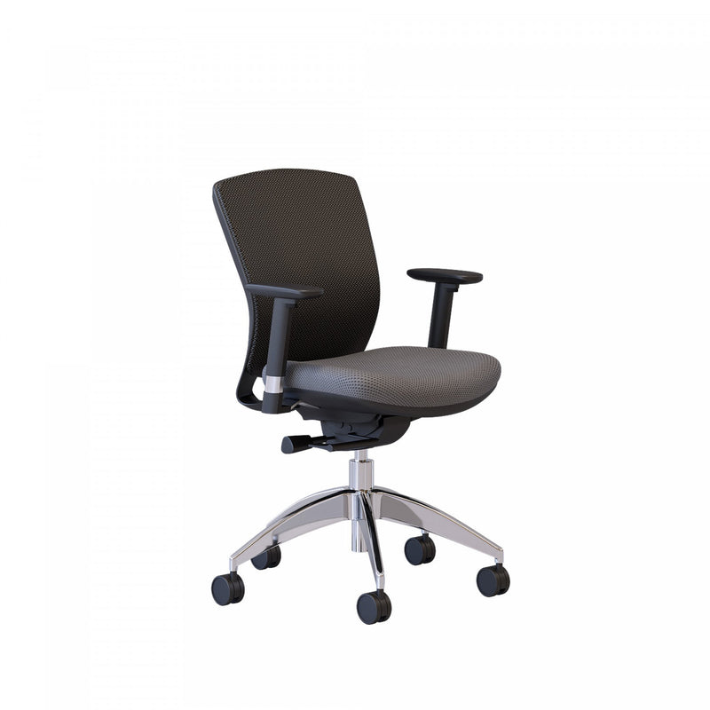 Logan Office Chair - Grey