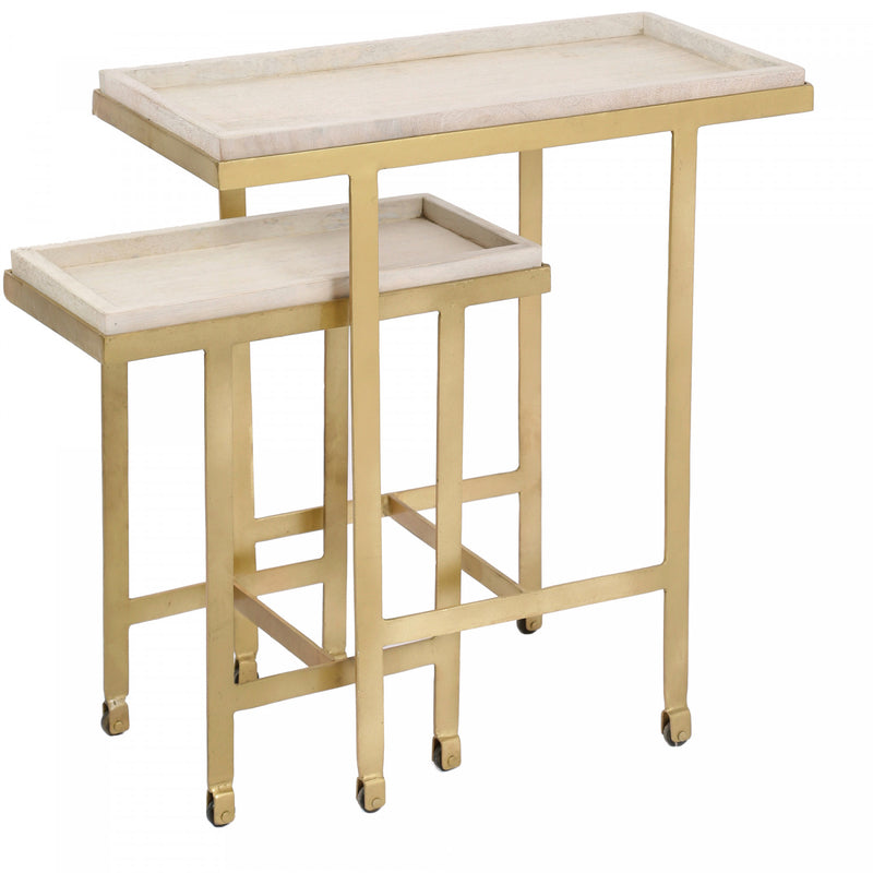 Woodry Accent Table