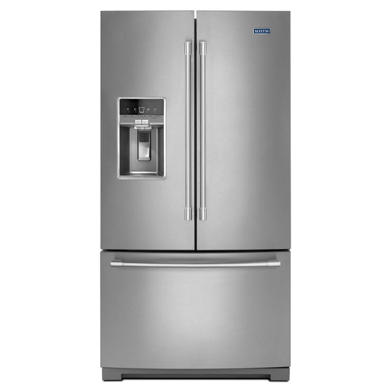 Maytag Fingerprint Resistant Stainless Steel French Door Refrigerator (27.0 Cu. Ft.) - MFT2772HEZ
