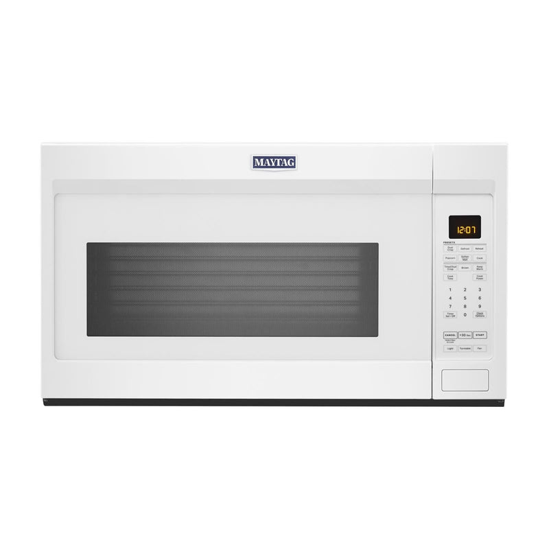 Maytag White Over-the-Range Microwave (1.9 Cu. Ft.) - YMMV4207JW
