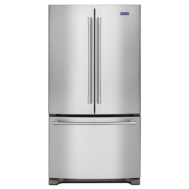 Maytag Fingerprint Resistant Stainless Steel French Door Refrigerator (20 Cu.Ft.) - MFC2062FEZ