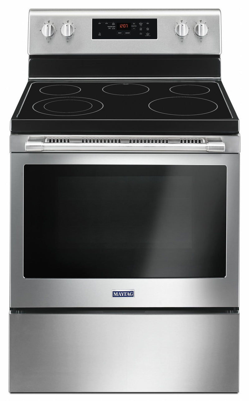 Maytag Fingerprint Resistant Stainless Steel Electric Range (5.3 Cu.Ft.) - YMER6600FZ
