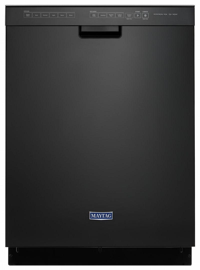 "Maytag Black 24"" Dishwasher (50 dBA) - MDB4949SHB"