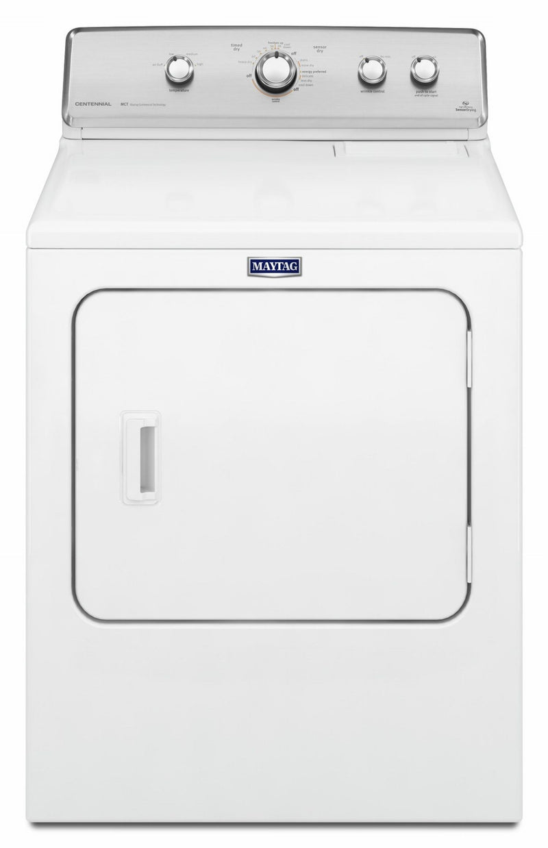 Maytag White Centennial Electric Dryer (7.0 Cu. Ft.) - YMEDC555DW