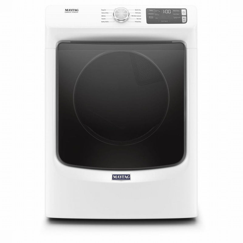 Maytag White Electric Dryer (7.3 Cu. Ft.) - YMED5630HW