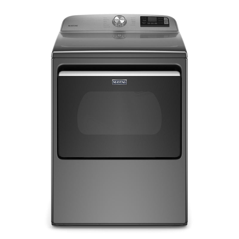 Maytag Metallic Slate Smart Electric Dryer (7.4 Cu.Ft.) - YMED6230HC