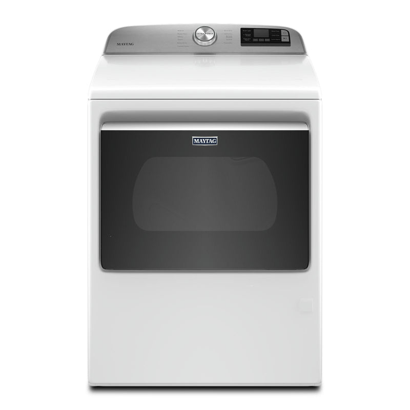 Maytag White Smart Gas Dryer (7.4 Cu.Ft.) - MGD6230HW