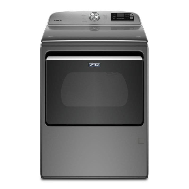 Maytag Metallic Slate Smart Gas Dryer with Steam (7.4 Cu.Ft.) - MGD7230HC