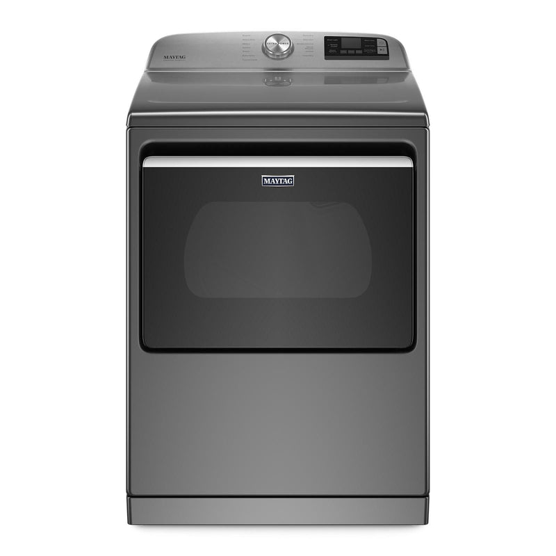 Maytag Metallic Slate Smart Electric Dryer with Steam (7.4 Cu.Ft.) - YMED7230HC