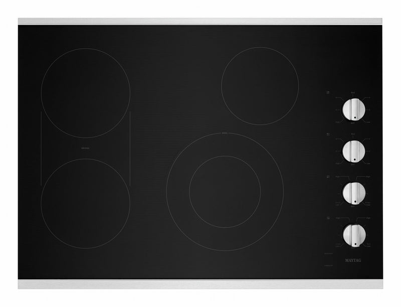 "Maytag Stainless Steel 30"" Electric Cooktop - MEC8830HS"
