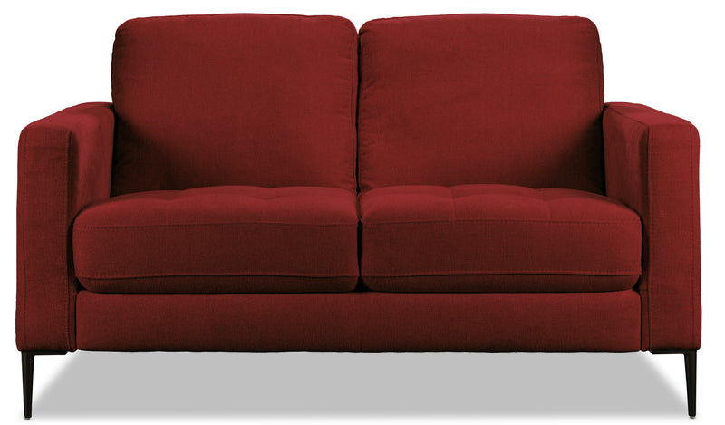 Leanne Loveseat - Red