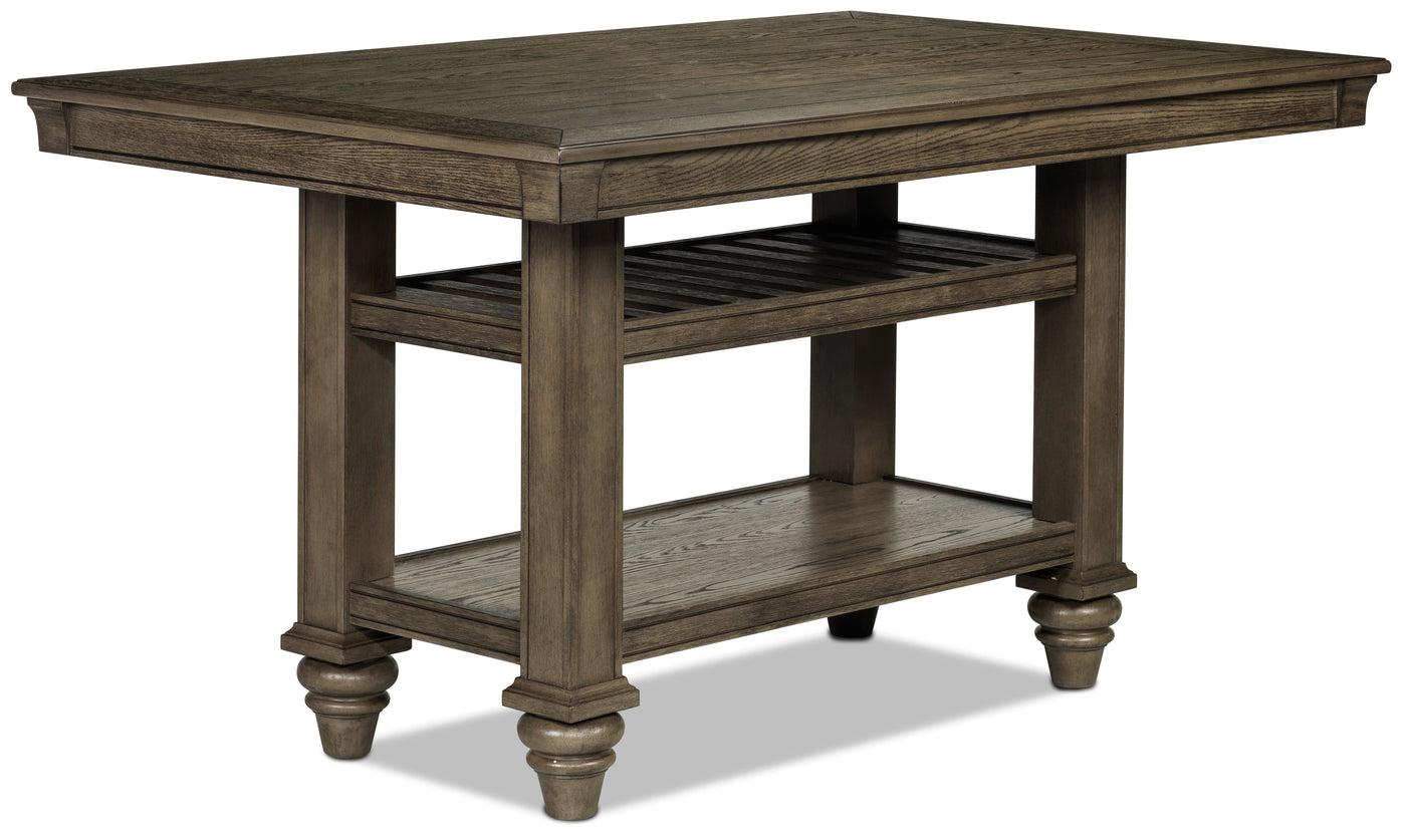Bilboa Counter Height Dining Table   Roasted Oak